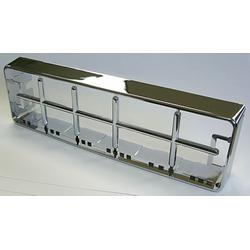 Replacement Front Chrome Bezel for SR-655HPC & SR-955HPC 10 Meter Amateur Radios.