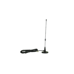 18261 - Midland Magnetic Mount Cellular Antenna 821-896 Black Pigtail Whip