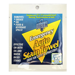 "03792795 - 11"" X 11"" Emergency Auto Stain Lifter Towelette"