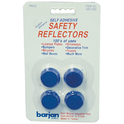 0491292 - Mini Blue Round Safety Reflectors