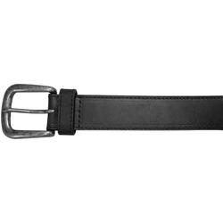 "10625410134 - 34"" Black Plain Field & Stream Leather Belt"