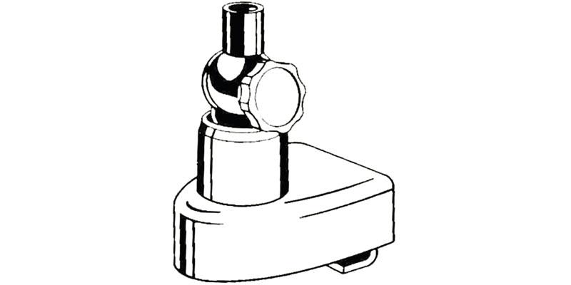 HLM - Hustler Heavy Duty Trunk Lip Antenna Mount