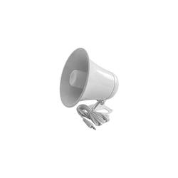 "KPA5-W - Kalibur 5-1/2"" White Plastic PA Horn"