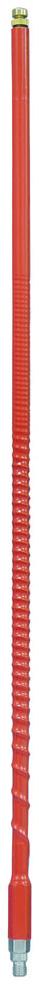 FS4-R - Firestik II Tunable Tip 4 ft CB Antenna (Red)