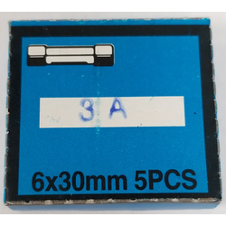 FS3 - Marmat 3 Amp Fuses Carded (5 Pack)