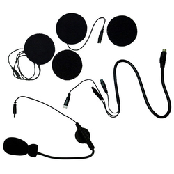 MC7X - Magnum Open Face Helmet Headset Boom And Ear Piece