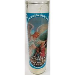 "KM1752-B - 8""  Angel Guardian Candle"