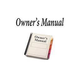OMP200 - Uniden Operators Manual For P200