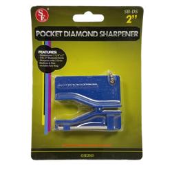SBDS - DIAMOND KNIFE & SCISSOR SHARPENER KEY CHAIN