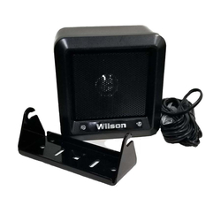 "305600-B - Wilson 5"" Black Heavy Duty Metal External Speaker with 22 Gauge Black Wire"