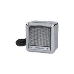"305600-CX - Wilson 5"" Chrome Heavy Duty Metal External Speaker with 22 Gauge Black Wire"