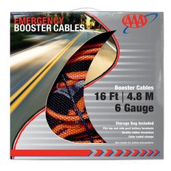 LF4326AAA - Lifeline - LF4326AAA - Heavy Duty 16' 6 Gauge Booster Cable