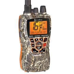 MRHH450CAMO - Cobra® 6 Watt Dual Band VHF And GMRS Handheld Radio