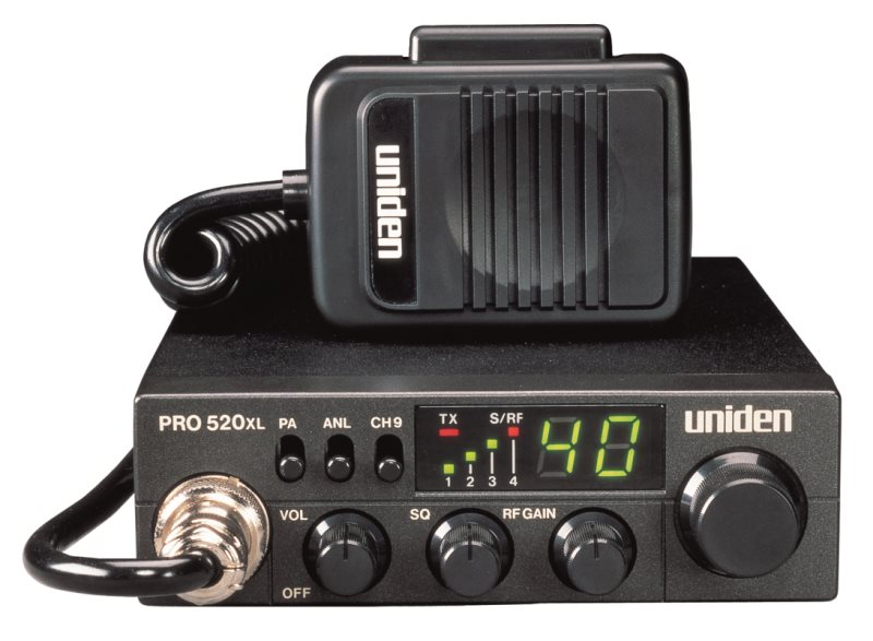 PRO520XL - Uniden Mobile 40 Channel CB Radio