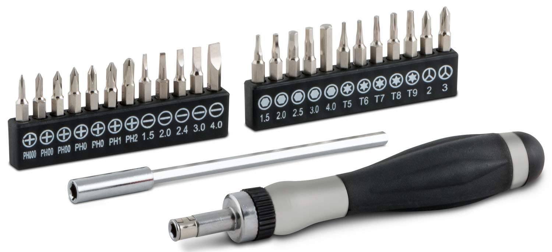 16092 - Titan Tools 26 Piece Ratcheting Screwdriver Set