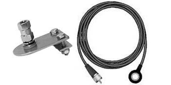 MKJ4R - Firestik Antenna Mount Kit For Jeep Hood/Fender