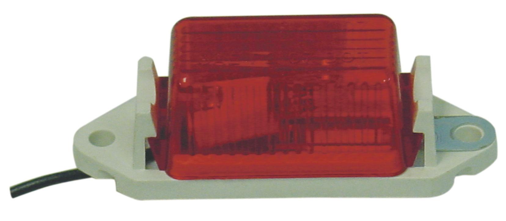 0496110712 - Red 2 Hole Saep2 97 Dot Marker Light