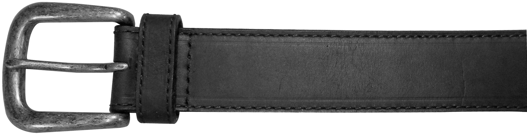 "10625410140 - 40"" Black Plain Field & Stream Leather Belt"