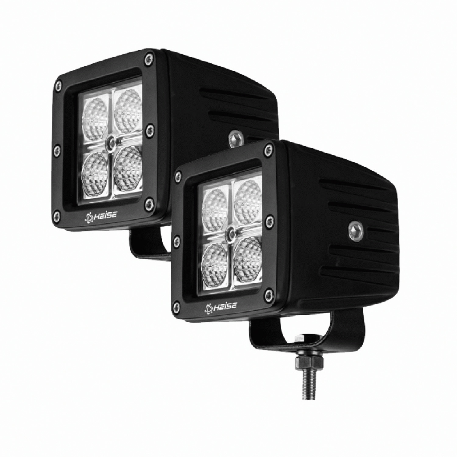 "HECL22PK - Heise 3"" 4 CREE LED Cube 16 Watt Light Kit (Pair)"