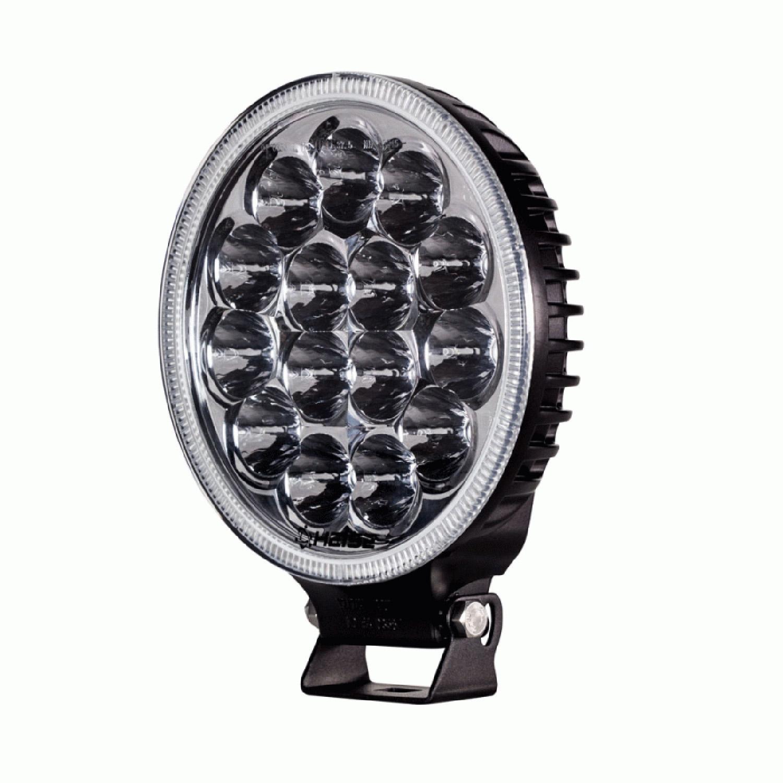 """HEDL4 - Heise 7"""" Round 45 Watt LED Driving Light"""
