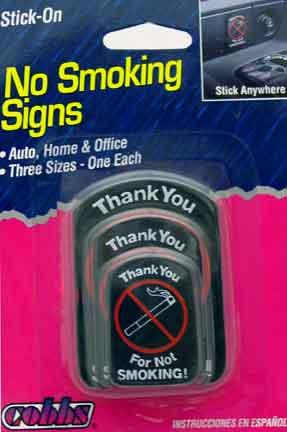 04710089 - No Smoking Medallions