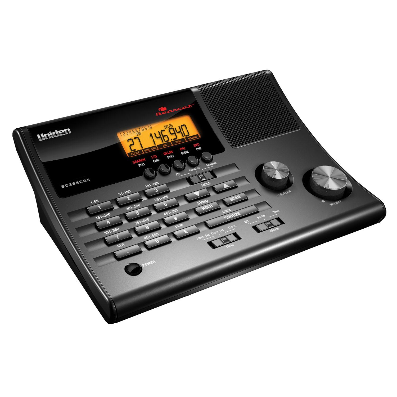 BC365CRS - Uniden 500 Channel Desktop Analog Scanner
