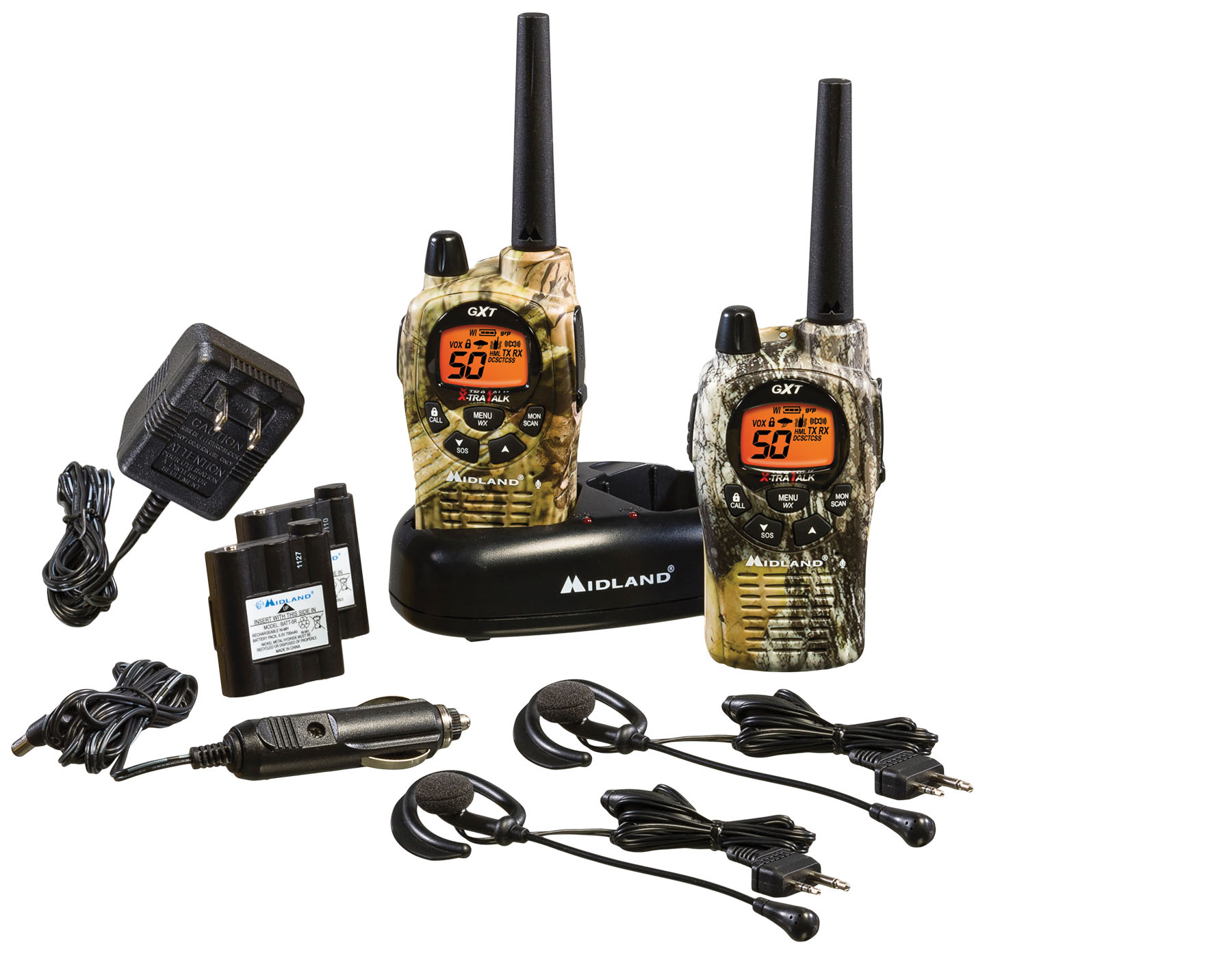 GXT1050VP4 - Midland 50 Channel GMRS Radios