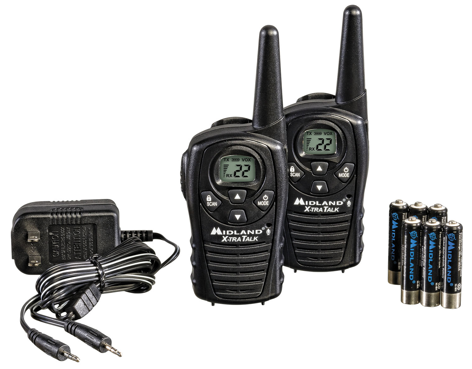LXT118VP - Midland 22 Channel GMRS Handheld Radio