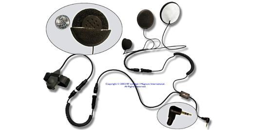 MC555 - Magnum Full-Face Headset-Garmin Rino 110, 120