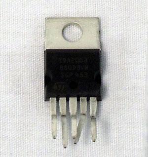 010051 - Cobra® Iad-2003A-Sa I.C. Audio Amp Tda2003V for 150Gtl, C25Ltd Radios
