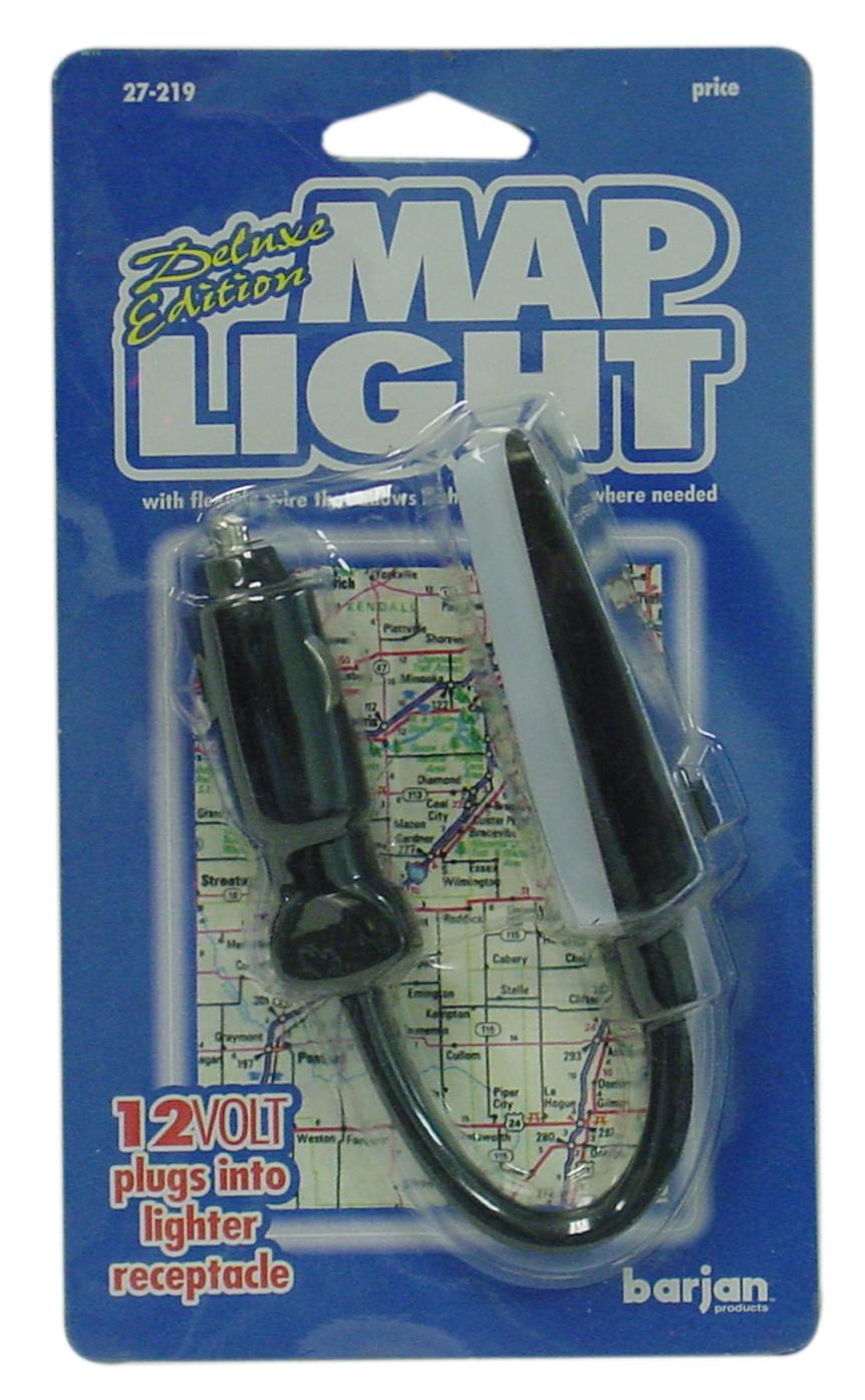 027219 - 12 Volt Luxury Edition Flexible Map Light With Cigarette Plug