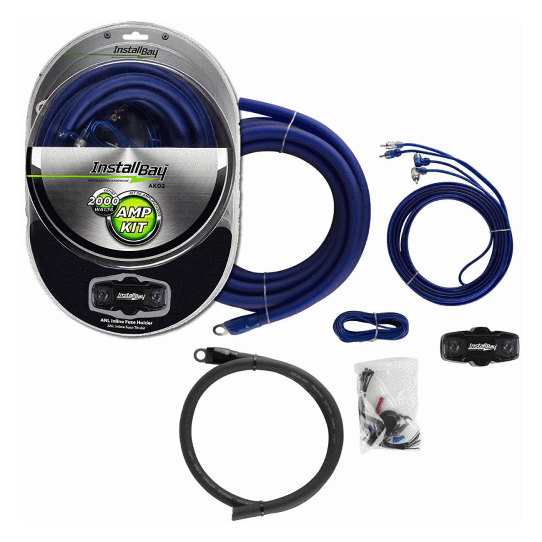 AK02 - Metra 2,000 Watt Complete Amplifier Installation Kit