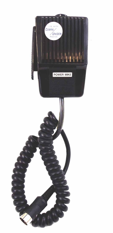CB5DPX - Marmat 5 Pin Din Power Microphone (Cobra/Uniden) Bulk