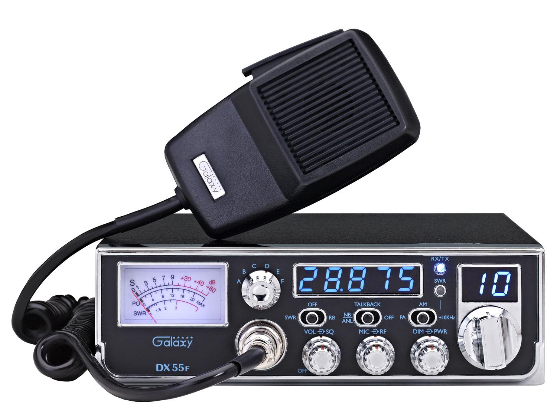 DX55F - Galaxy 45 Watt Mid-Size Chassis 10 Meter Amateur Ham Radio