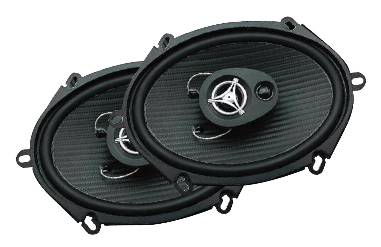 """EF573 - Power Acoustik 5"""" x 7"""" 500 Watt Speaker Pair"""